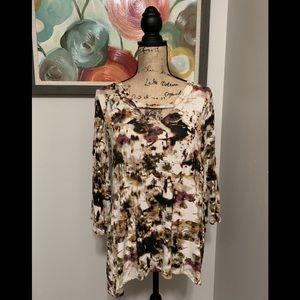 Cute A&I Bell Sleeve Boho Style Top❣️
